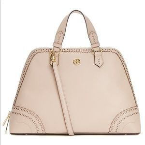 Tory Burch Brogue Limited Edition Satchel